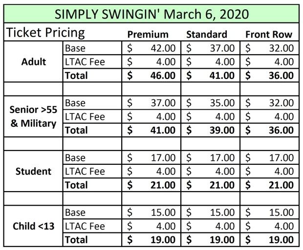 MAR 2020 Pricing