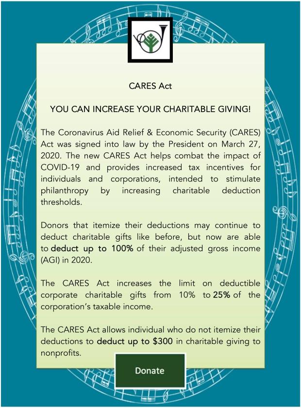 CARES Act Web