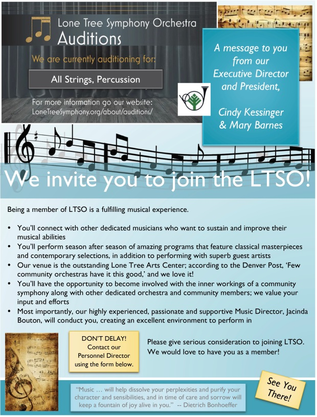 Audition Sell LTSO Website